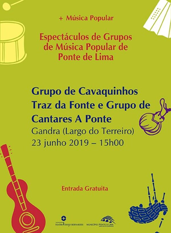 Musica popular cartaz gandra 1 600 816