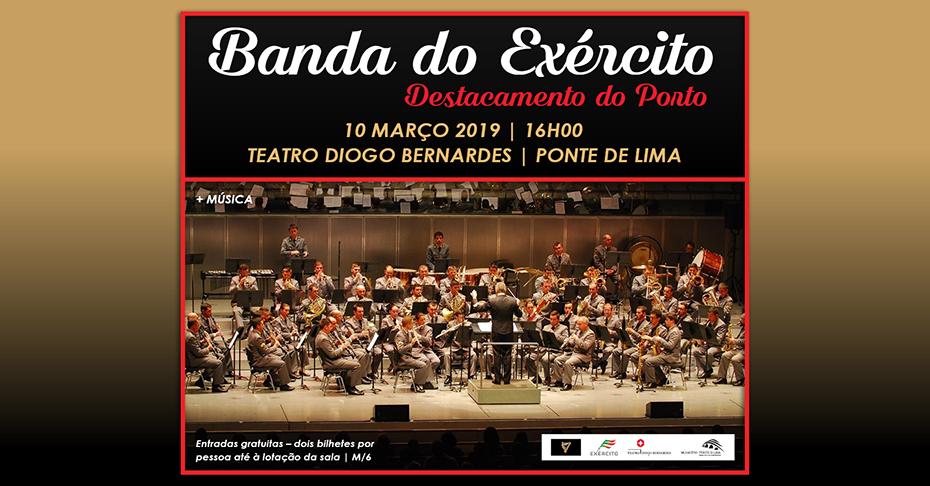 """Los conciertos del """"Diogo Bernardes"""". Banda do Exército deja en Ponte de Lima un gratísimo recuerdo"""